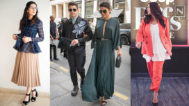 A-Listers of Bollywood Serving us with Some Major Fashion Goals in Pleated Outfits