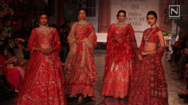Rahul Mishra Showcases his Bridal Collection Malhausi Monaco at India Couture Week 2019