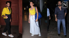 Celebs Attend the Special Screening of Marathi Film Smile Please