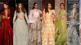 Here are all Stunning Showstoppers of India Couture Week 2019