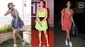 Celebrities Looking Pretty as Ever in Gorgeous Skater Dresses