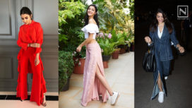 Bollywood Celebs Making Fashion Statements in Slit Pants