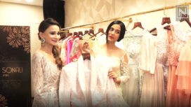 Amrita Rao, Benafsha Soonawalla and Vidya Malvade at Sonali Jain's Collection Preview
