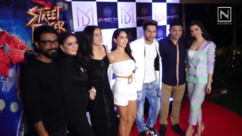 The Star Cast of Street Dancer Come Together for its Wrap Up Party