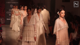 Tarun Tahiliani Gives a Luxurious Ending to India Couture Week 2019