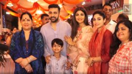 Bollywood Celebrities Mark their Presence at Janmashtami Celebration at the ISCON Temple