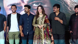 Tamannaah Bhatia, Farhan Akhtar, Chiranjeevi and More at Sye Raa Narasimha Reddy Teaser Launch