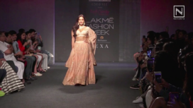 Neha Sharma Walks for Label Kraft Corridor at LFW Winter Festive19