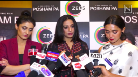 The Star Cast of Posham Pa Come Together for Promotions