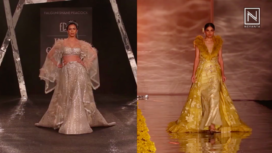 Elegant Designs with Sweeping Trails Take Over the Runway of India Couture Week 2019