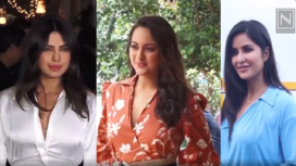 Bollywood Divas Sporting the Season's Latest Trend Collar Dresses