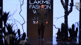 Arjun Kapoor Turns Showstopper for Kunal Rawal at Lakme Fashion Week Winter Festive 2019