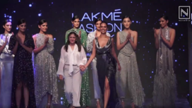 Esha Gupta Turns Muse to Pallavi Mohan at Lakme Fashion Week Winter Festive 2019