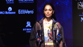 Sobhita Dhulipala Walks the Ramp for The Platform by Smart Water India at LFW WF19