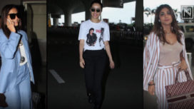 Bollywood Celebrities Keep their Style Game on Point as they Jet-Set