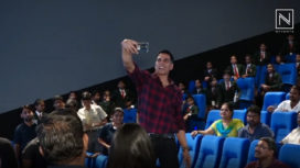 Akshay Kumar Hosts a Special Screening for the School Children