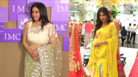 Kajol Devgan and Chitrangda Singh Attend the Women Enterpreneurs' Exhibition