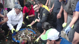 Arjun Kapoor Participates in the Second Edition of Beach Clean Up Drive