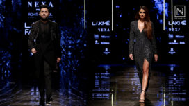 Ayushmann Khurrana and Disha Patani for Rohit Gandhi & Rahul Khanna at LFW WF19