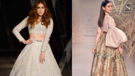 Designers and their Showstoppers - Sara Ali Khan and Aditi Rao Hydari