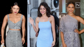 Bollywood Celeb-Approved Gingham Outfits