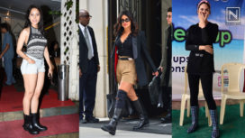 Bollywood Divas Keeping their Monsoon Fashion Intact in Gumboots