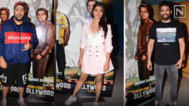 B-town Celebs Grace the Special Screening of Once Upon a Time in Hollywood