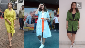 Top Five Most Stylish Looks of Parineeti Chopra during Jabariya Jodi Promotions