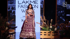 Pooja Hegde Turns Gorgeous Showstopper for Jayanti Reddy at LFW Winter Festive 2019