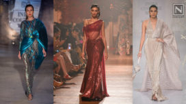 Top 10 Sari Gowns to Make a Style Statement this Wedding Season
