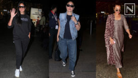Bollywood Celebrities in their Fashion Forward Airport Looks this Week