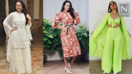 Top 5 Looks that Sonakshi Sinha Absolutely Nailed during Khandaani Shafakhana Promotions