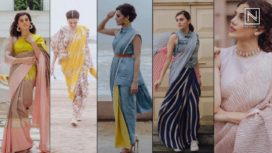 Taapsee Pannu's Top 5 Fashionable Sari Looks from Mission Mangal Promotions