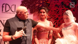 Tarun Tahiliani Speaks about why he Opted for a Non-Celebrity Showstopper