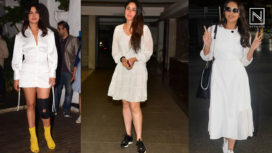 Bollywood Divas Sporting the Easy-Breezy Trend with White Dresses