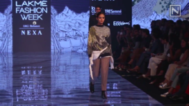 Anurag Gupta Collection Showcase at Lakme Fashion Week Winter Festive19