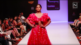Shruti Prakash Turns Muse for The Mystique Design at BFW Autumn Winter 2019