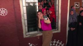 Mouni Roy's Special Pre-Birthday Celebration with Underprivileged Kids