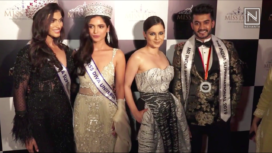 Kangana Ranaut, Aparshakti Khurana, and More at Miss Diva 2019 Event
