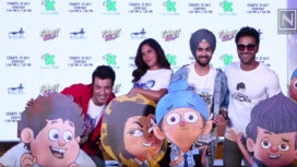 Celebrities Mark Their Presence at the Launch of Animated Series Fukrey Boyzz