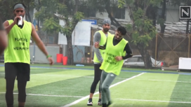 Arjun Kapoor and Ranbir Kapoor and Other Celebs Play Charity Football Match
