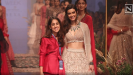 Ridhi Mehra Showcases Bohemian Inspired Collection at Lakme Fashion Week Winter Festive 2019