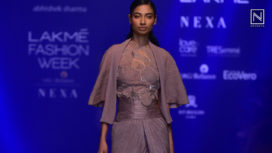 Abhishek Sharma Showcases Arup at Lakme Fashion Week Winter Festive 2019