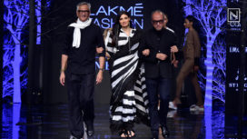Athiya Shetty Turns Perfect Muse to Abraham & Thakore at Lakme Fashion Week WF19