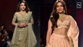 Designers and their Showstoppers - Soha Ali Khan and Neha Sharma