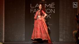 Genelia Deshmukh Turns Perfect Muse to Saroj Jalan at Lakme Fashion Week WF19