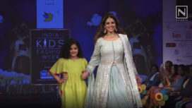 Tanazz Irani and Smriti Khanna Walk at India Kids Fashion Week 2019