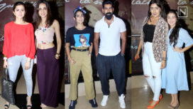 Celebrities Attend the Special Screening of Pehlwaan