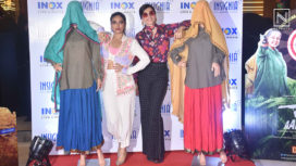 Taapsee Pannu and Bhumi Pednekar Launch the Trailer of Saand Ki Aankh