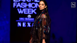 Sobhita Dhulipala Walks for Ambush by Bloni at Lakme Fashion Week Winter Festive 19